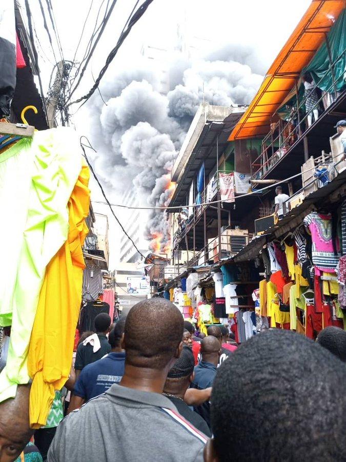 Fire, solacebase, solacebase.com, lagos, market fire